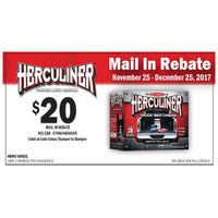 Herculiner Brush-On Bed Liner Kit Rebate