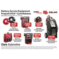 Solar Booster Pack Rebate
