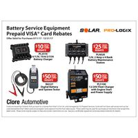 Solar Battery Service Equipment Rebate
