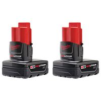 Milwaukee Tool - 48-11-2412 M12 REDLITHIUM XC Battery Two Pack