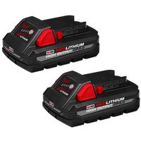 Milwaukee Tool - 48-11-1837 M18 RedLithium High Output CP3.0 Battery (2 Pack)