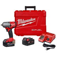 Milwaukee Tool - 2852-22 M18 FUEL Mid-Torque Cordless Impact Wrench with Friction Ring